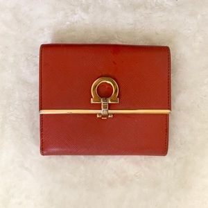 Authentic Salvatore Ferragamo Fold Wallet🌹